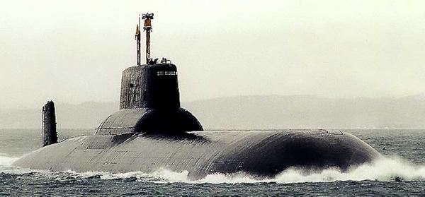 the biggest submarine ever built
