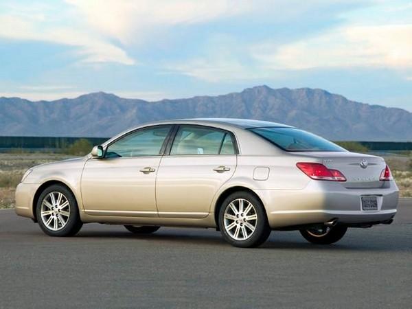 Toyota Avalon 2017 rear design