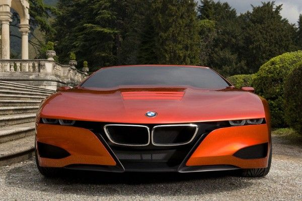 a BMW M1 Hommage frontal look