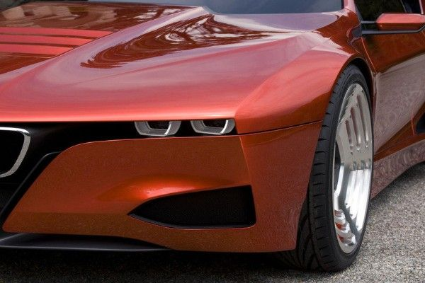 a BMW M1 Hommage light
