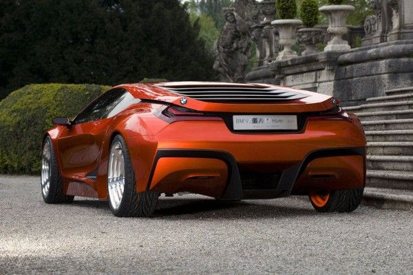 a BMW M1 Hommage  rear view