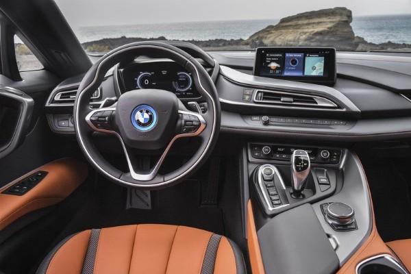 a BMW M1 Hommage cockpit