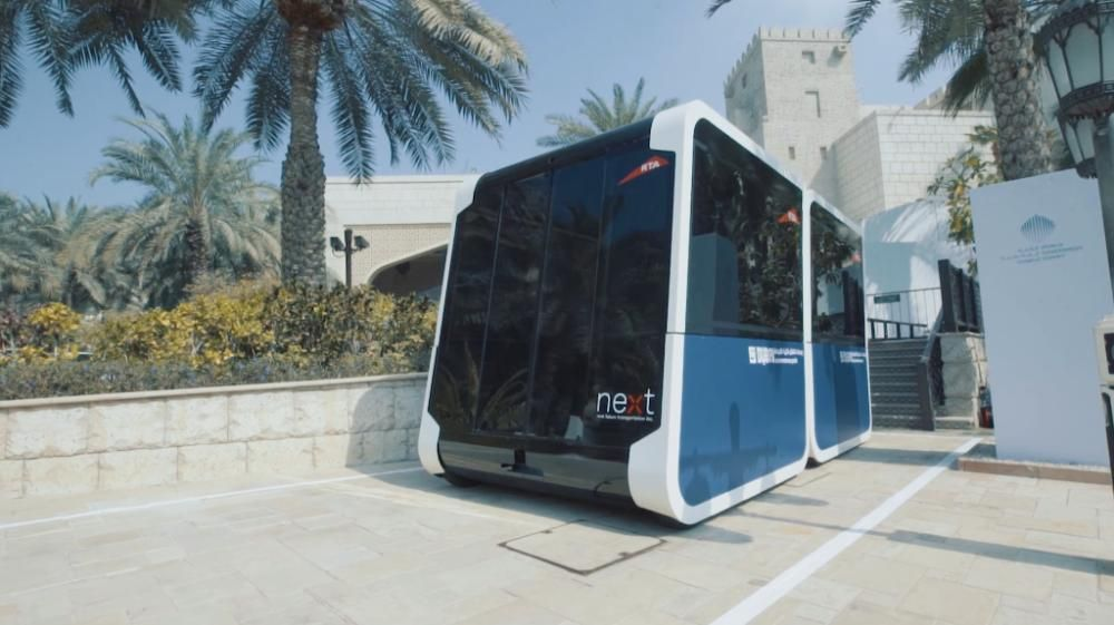 a NEXT car in Dubai