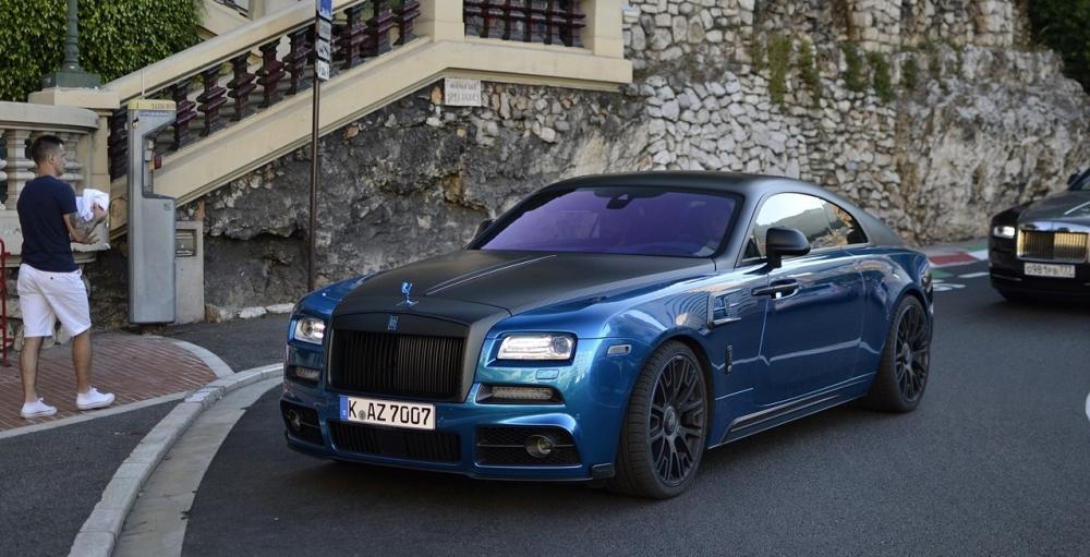 a Roll Royce Wraith - Mansory Edition