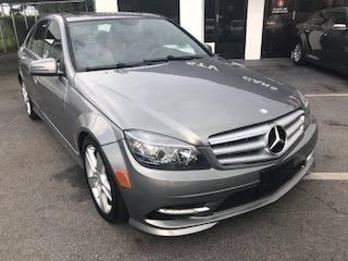 2012 Mercedes Benz C300 Grey For Sale 1 4