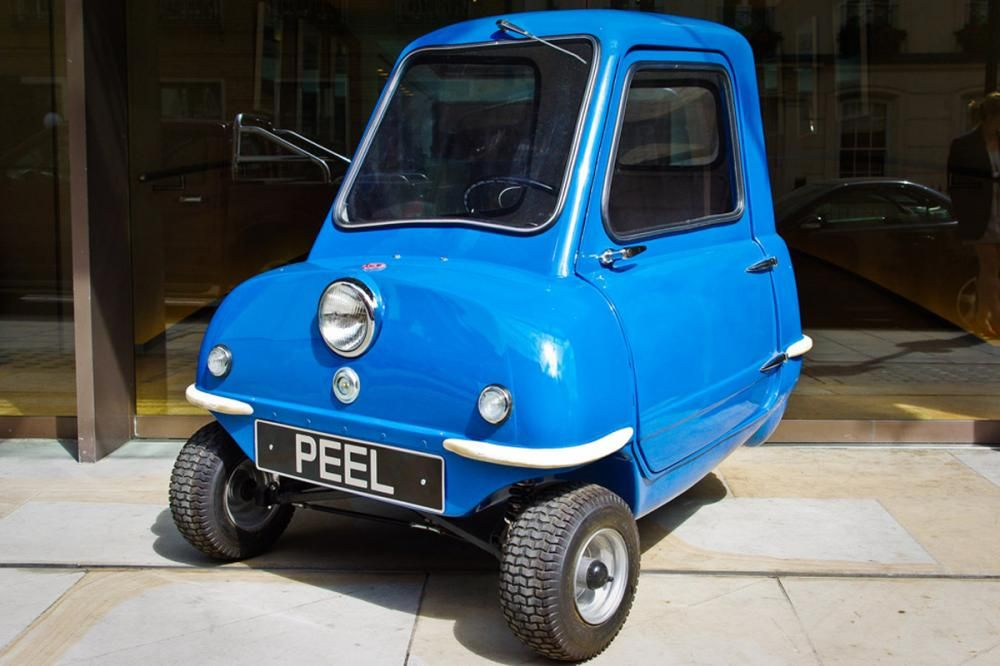 the angular front of the PEEL P50
