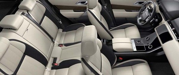 Range Rover Velar 2018 seat arrangements