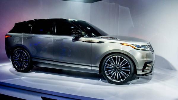 Range Rover Velar overall design