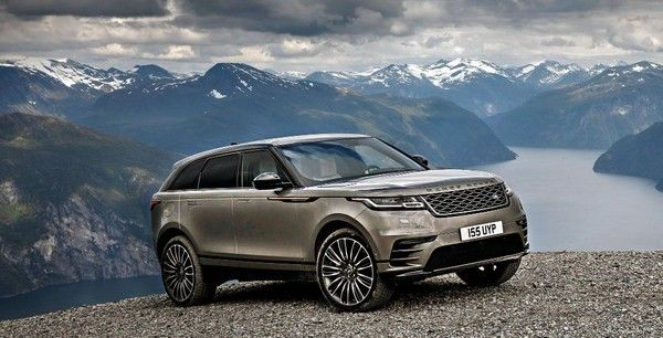 Range Rover Velar and mountainous background