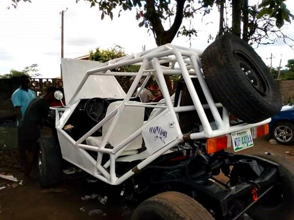 The Nigerian-made mini-Jeep