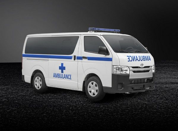 Toyota HiAce ambulance version