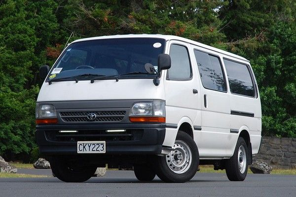 a fourth-gen Toyota HiAce
