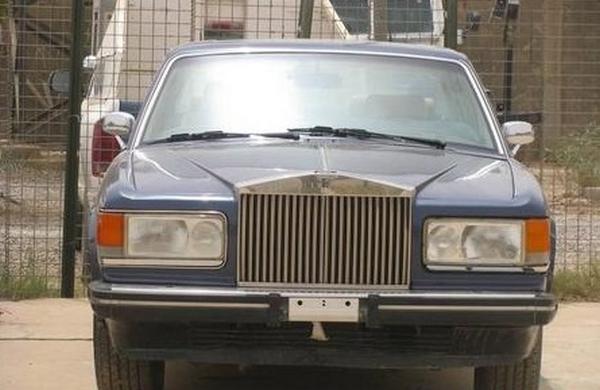 a Rolls-Royce of Uday Saddam Hussein