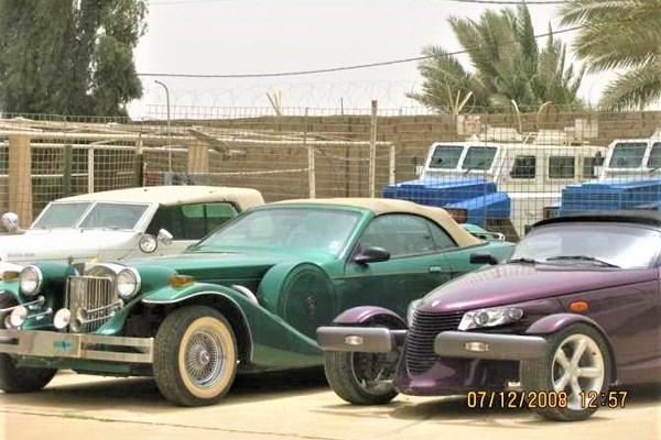 Car fleet of Uday Saddam Hussein