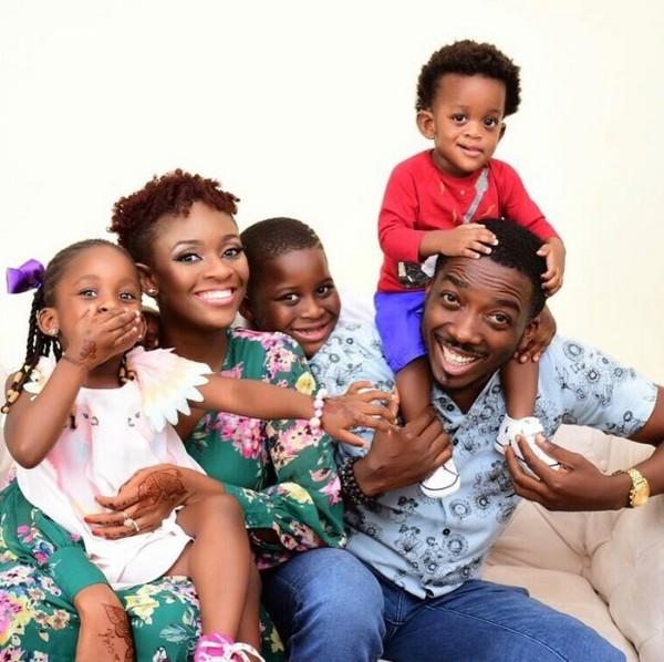 Comedian Bovi's family photo