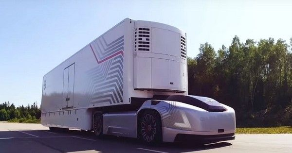 Volvo Vera and trailer