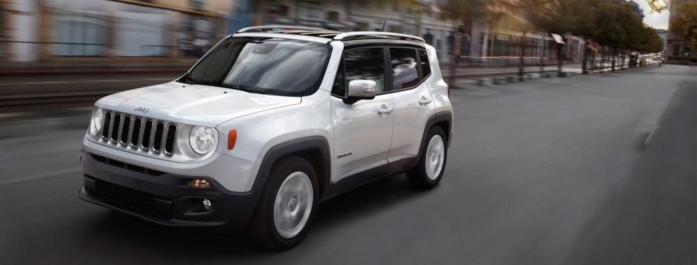 a Jeep Renegade
