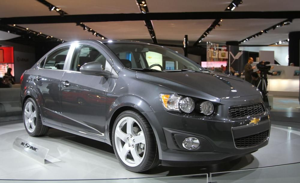 a Chevrolet Sonic