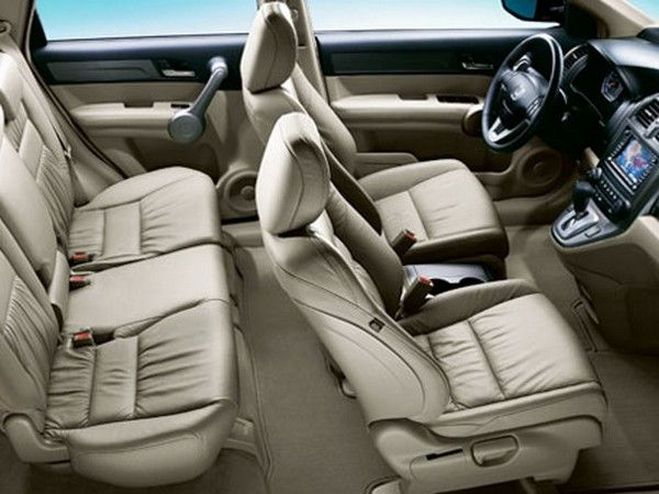 2008 Honda CR-V seat arrangement