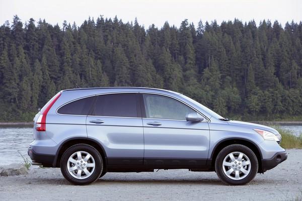 a 2008 Honda CR-V side look
