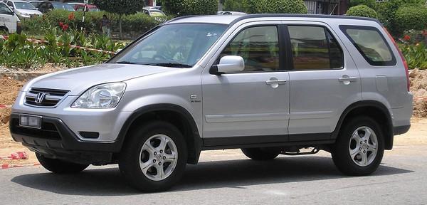 design of second-gen Honda CR-V
