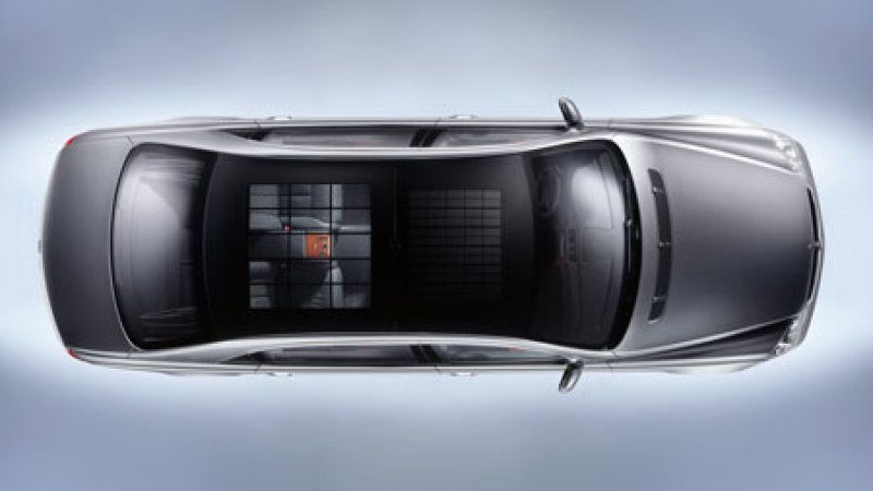 a roof panel of a Maybach