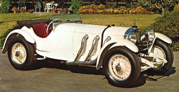 the 1929 Mercedes-Benz 38/250 SSK