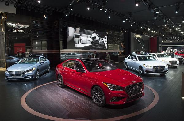 Show car at North American International Motor Show