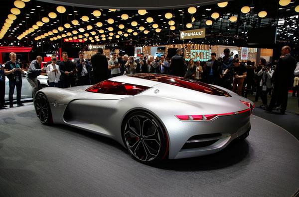 Showcar at Paris Global Motor Show