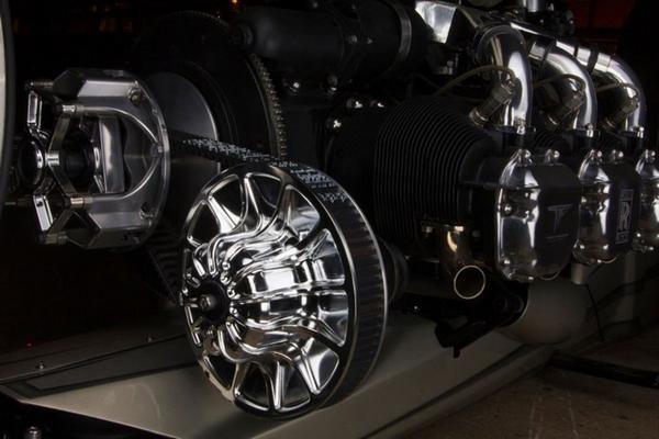 Engine parts of  the TMC DUMONT