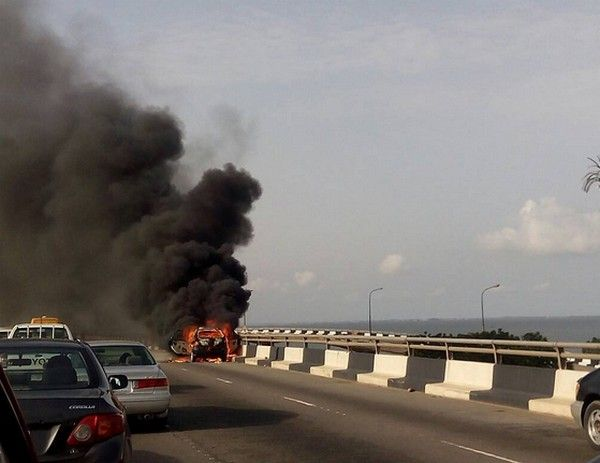 a-burning-car-on-third-mainland-bridge