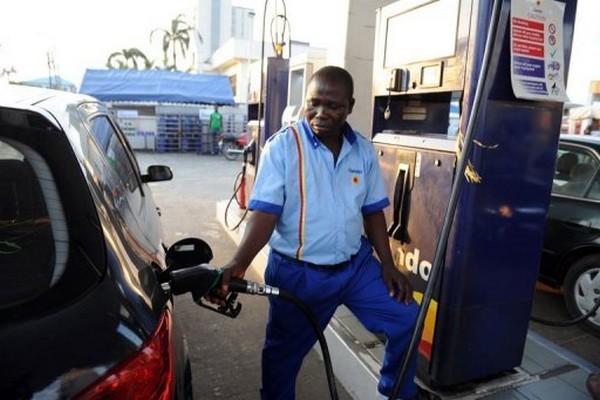 a Nigerian petrol attendant