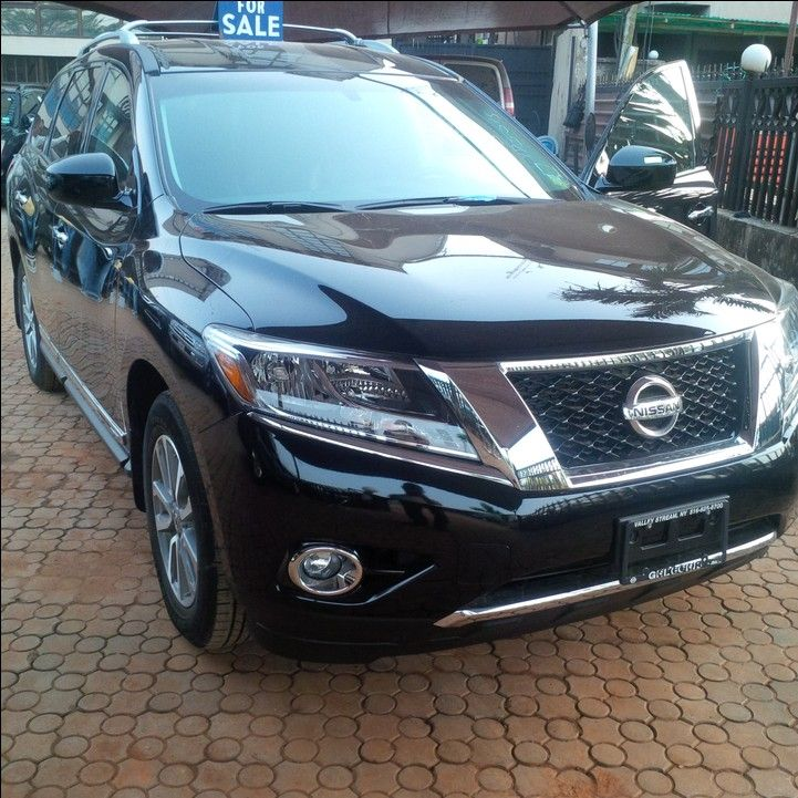 2014 Nissan Pathfinder Black For Sale 1 /5