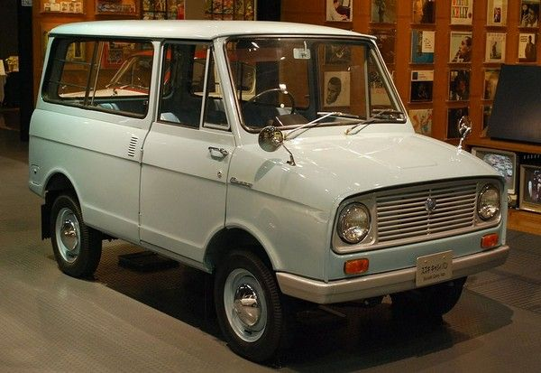Suzuki Carry van model year 1964