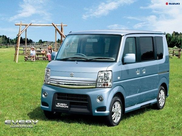 a brand new Suzuki Every