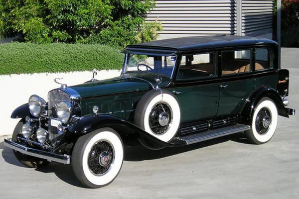 An old Cadillac