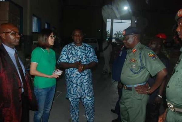 Lieutenant General Tuker Yusuf Buratai visits Innoson Motors