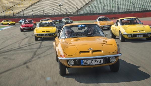 An Opel car