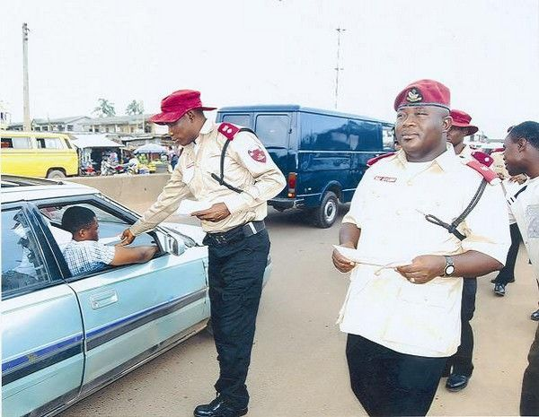 Nigerian marshals at work