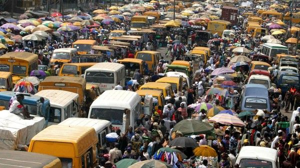 traffic jam in Lagos