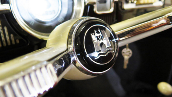 a interior part of the 22-mile Volkswagen Beetle
