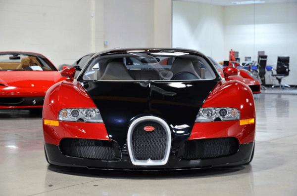 Bugatti Chiron of boxer Floyd Mayweather