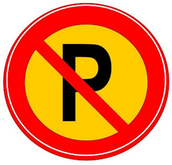 sign of No parking