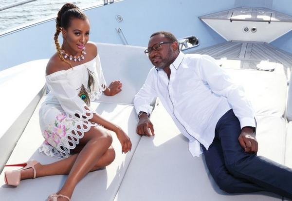 DJ Cuppy and her father Femi Otadola