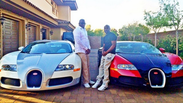 Floyd Mayweather's and Doctor Bugatti