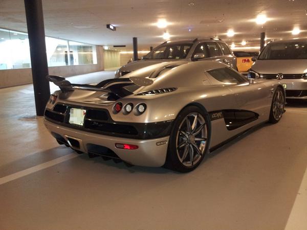 the abandoned Koenigsegg Trevita