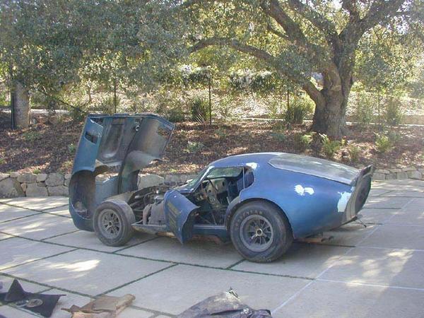 abandoned Shelby Daytona