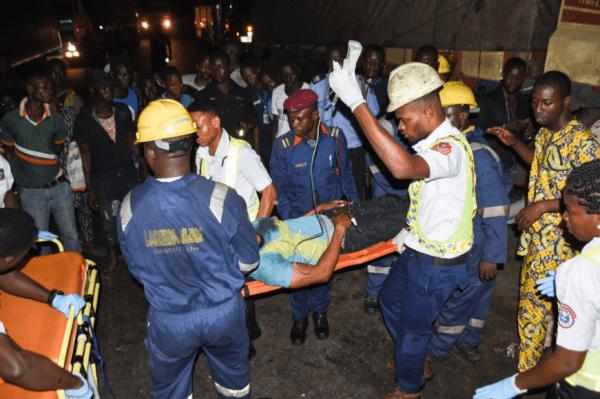 Lagos Response Unit paramedics deliver victim to hospital