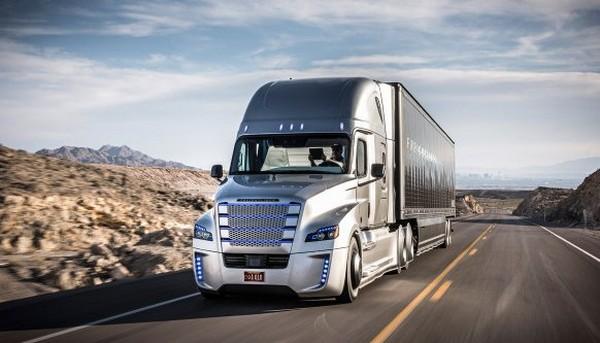 Self-driving Freightliner