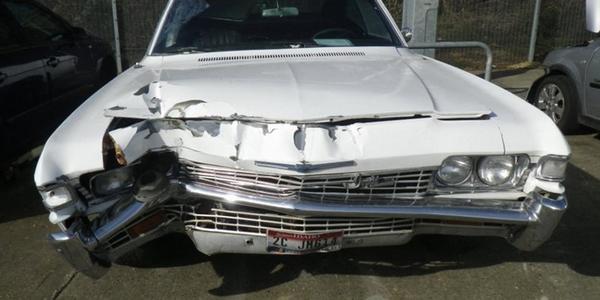 abandoned 1961 Chevrolet Impala SS Bubble Top